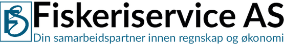 Fiskeriservice AS, logo
